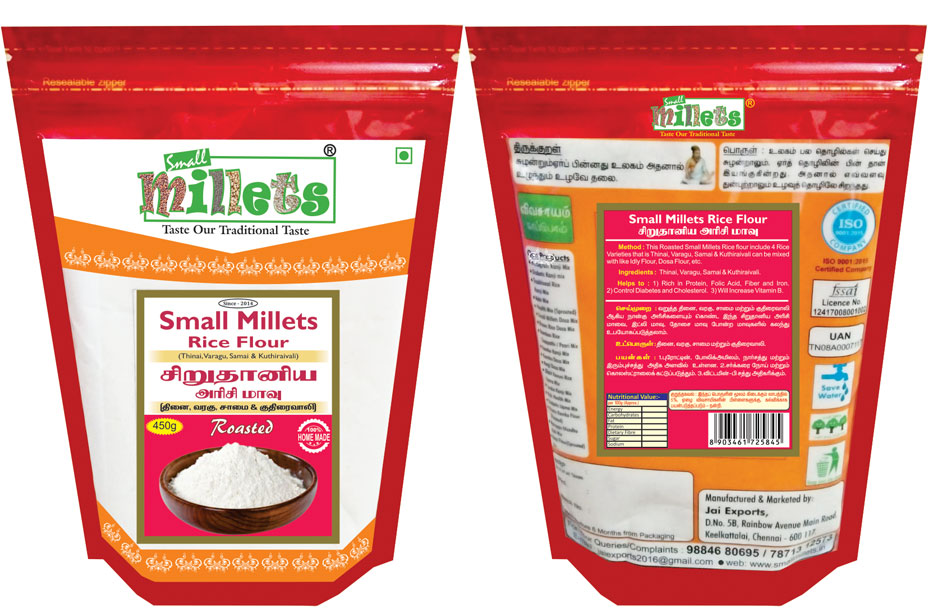 Small millets dosa mix chennai